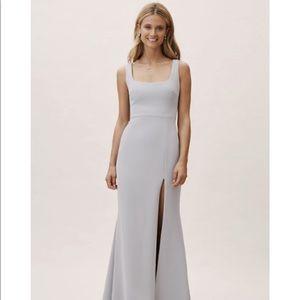 BHLDN Bridesmaid Dress Fog size 4
